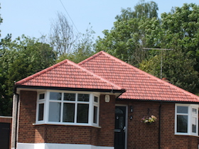 new red roof bungalow - leaflet